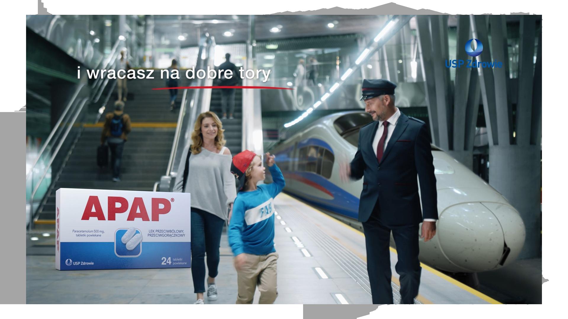 Kadr ze spotu tv dla marki USP zdrowie